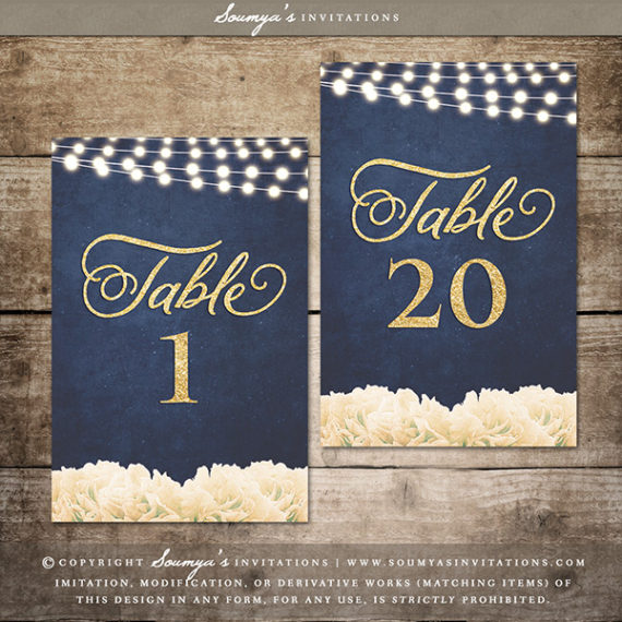 Welcome Wedding Sign, Gold and Navy Wedding Welcome Sign ...