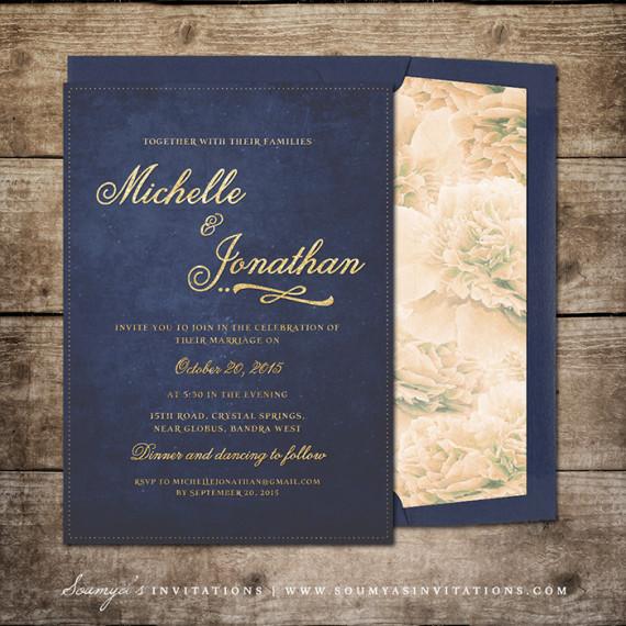 Night Lights 171 Wedding Invitations Soumya S Invitations