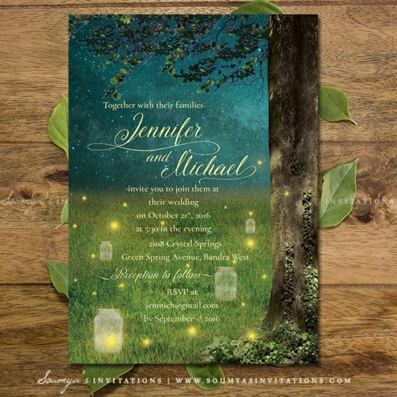 enchanted forest  u00ab wedding invitations